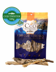 Alps Natural Cod Supreme Twister Dog Treats | Perromart Online Pet Store MY
