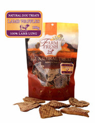 Alps Natural Farm Fresh Lamb Waffles Lung Dog Treats | Perromart Online Pet Store MY