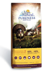 Alps Natural Pureness Range Raised Turkey Recipe Dry Dog Food (2 Sizes)