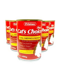 Cat's Choice Tuna, Sardine & Salmon Cat Food | Perromart Online Pet Store MY