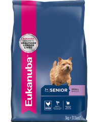 Eukanuba Senior Small Breed Dry Dog Food