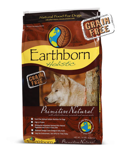 Earthborn Holistic Natural Grain Free Primitive Natural Dry Dog Food (3 Sizes) | Perromart Online Pet Store Malaysia