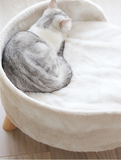 Ultra Fluff Furry Elevated Sofa Bed| Perromart Online Pet Store Malaysia
