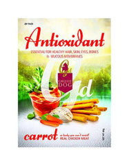 Greedy Antioxidant Carrot Formula Dog Treat 80g | Perromart Online Pet Store MY