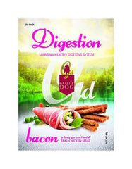 Greedy Digestion Bacon Formula Dog Treat 80g | Perromart Online Pet Store MY