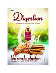 Greedy Dog Digestion BBQ Smoke Chicken Formula Dog Treat 80gm | Perromart Online Pet Store MY