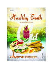 Greedy Dog Healthy Teeth Cheese Formula Dog Treats 80g | Perromart Online Pet Store MY