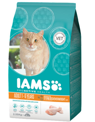 IAMS Optimum Weight Light Cat Dry Food (3 Sizes)