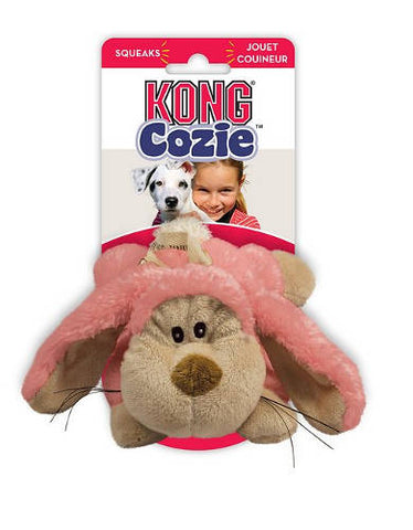 KONG Medium Cozie Floppy Rabbit Pet Toy | Perromart Online Pet Store MY