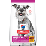 Hill's® Science Diet® Adult 7+ Small Paws™ Chicken Meal, Barley & Brown Rice Recipe Dry Dog Food (1.5kg)