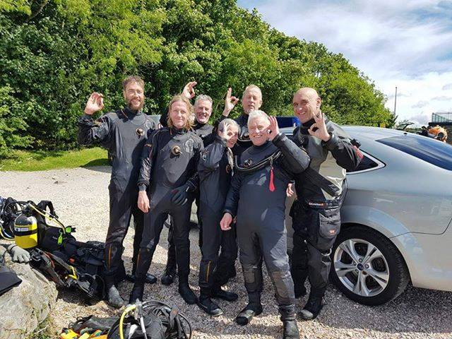 Drysuits Specialty Course Completed with Divers from the Netherland!