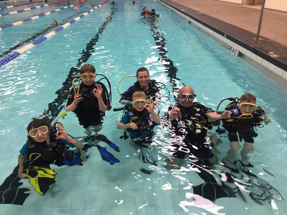 Discover Scuba Diving for Jr Divers with Dive Manchester