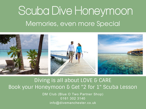Scuba Dive Honeymoon: Special Memories Forever