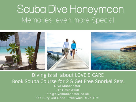 Scuba Diving Honeymoon: Book your Honeymoon & Get Free Snorkel Set