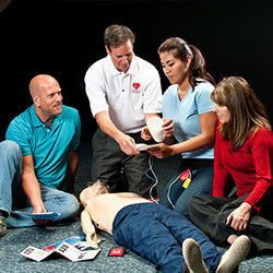 First Aid CPR AED Training in Manchester with Dive Manchester