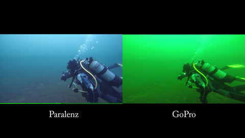 Paralenz Camera Clear Image of Underwater at Dive Manchester