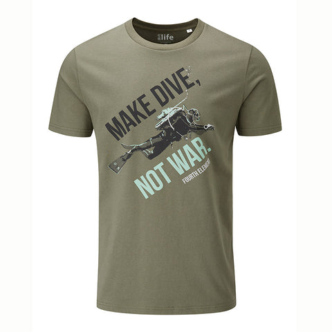 Fourthelement Dive Not War T-Shirt - Dive Manchester