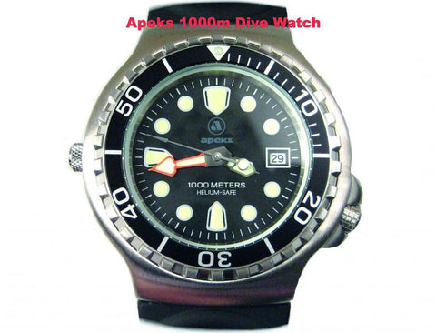 Apeks 1000M Dive Watch - Dive Manchester