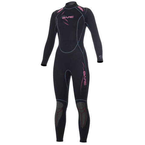Bare 1mm Sport Full Ladies Wetsuits - Clearance