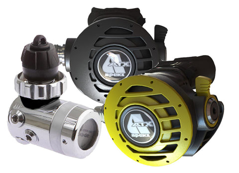 Apeks ATX40 and ATX40 Octopus Regulator Set - Dive Manchester