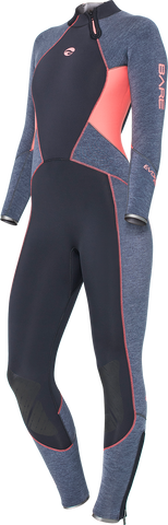 Bare Evoke 7mm Ladies Wetsuits - Dive Manchester