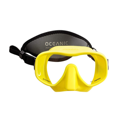 Oceanic Shadow Mask Yellow - Limited Edition - - Dive Manchester