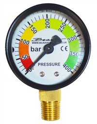 Beaver Airgun Charging Adaptor Pressure Gauge - Dive Manchester