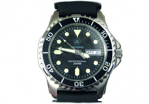 Apeks Professional Dive Watch (Rubber) - Dive Manchester