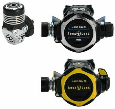 Aqualung Leg3nd MSB Regulator Stage 3 Set - NEW!! - Dive Manchester