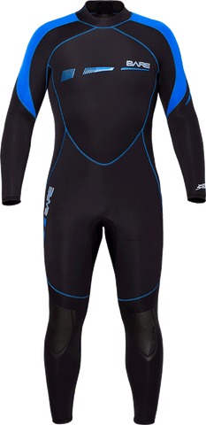 Bare 2/3mm Sports S-Flex Full Wetsuits - Clearance - Dive Manchester