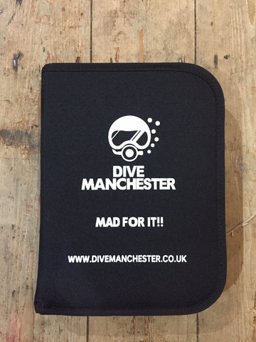 "Dive Manchester Logbook Folder ""MAD FOR IT!!"" - Dive Manchester"