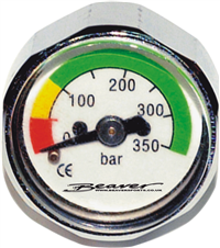 Beaver First Stage Button Pressure Gauge - Dive Manchester