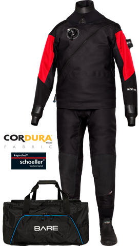 Bare HDC Tech Dry Drysuits - Dive Manchester