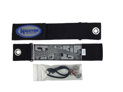 Halcyon Suit Inflation Mounting Straps Set - Attaches to Backplate - Dive Manchester