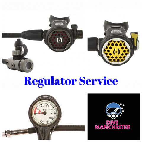 Hollis Regulator Service - Dive Manchester