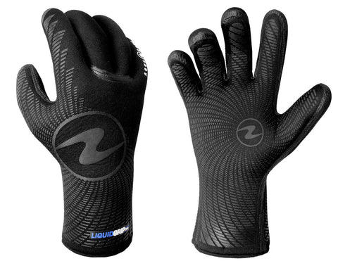 Aqualung Liquid Grip Gloves 3mm & 5mm - clearance - Dive Manchester