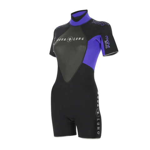 Aqualung MAHE 3mm Shorty Wetsuits - Dive Manchester
