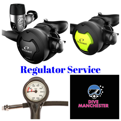 Oceanic Regulator Service - Dive Manchester