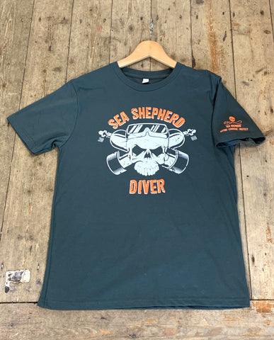 New Sea Shepherd Diver T-Shirt...Let's Support their Campaigns - Dive Manchester