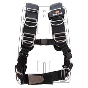 Dive Rite TransPlate Harness with Crotch Strap - Dive Manchester