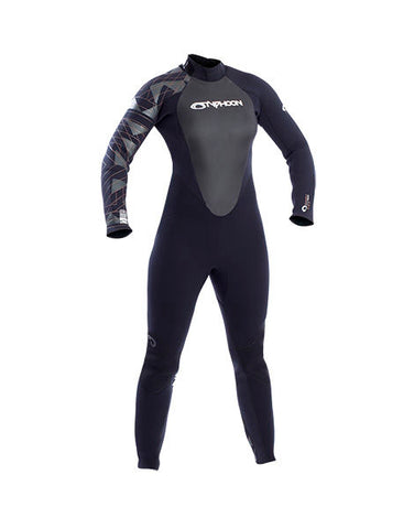 Typhoon Storm BZ 5mm Ladies Wetsuits - Dive Manchester