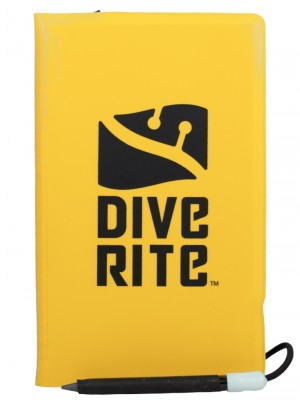 DiveRite Wet Notebook with Pencil - Dive Manchester