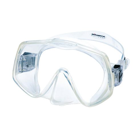 Atomic Frameless 2 ultra clear lens mask at Dive Manchester