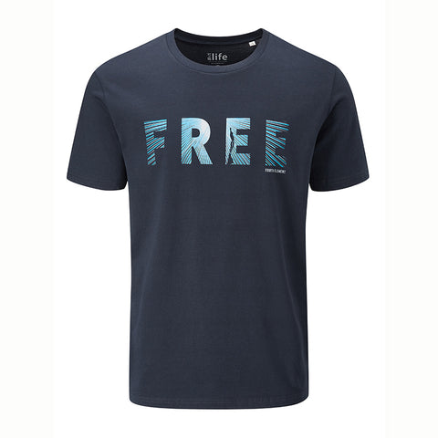 Fourthelement Mens Free T Shirt - Clearance