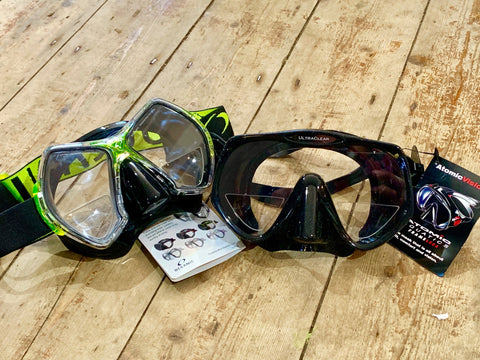 Prescription Lenses for your choice of mask - Dive Manchester