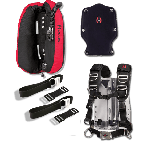 Hollis LX Series Wings & Elite 2 Package - Dive Manchester