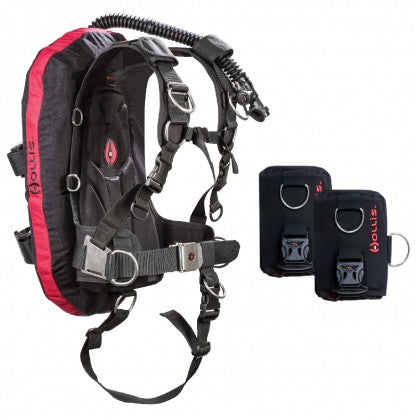 Hollis HTS Harness system & LX Wing Package - Dive Manchester