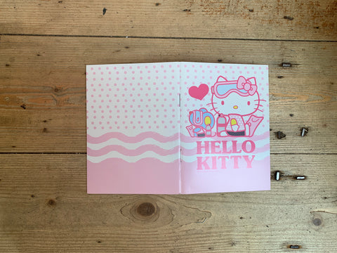 Hello Kitty Diving Logbook - Dive Manchester