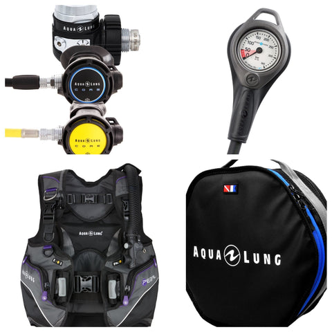 Aqualung Diver Package - Pearl & Core - Dive Manchester