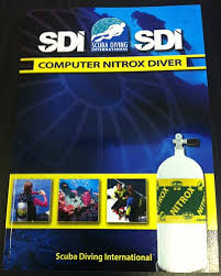 SDI Computer Nitrox Diver Manual & Course Booking